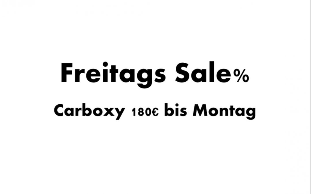 Freitags Sale %%%